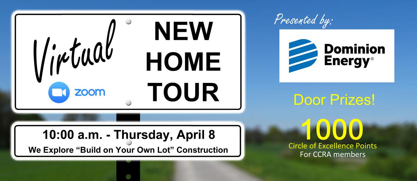 Virtual New Home Tour April 2021