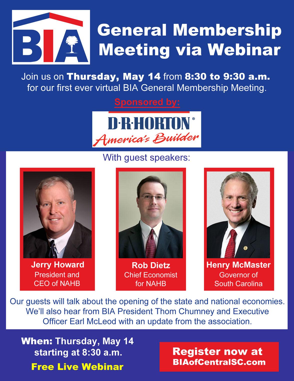 BIA Membership Meeting May 2020
