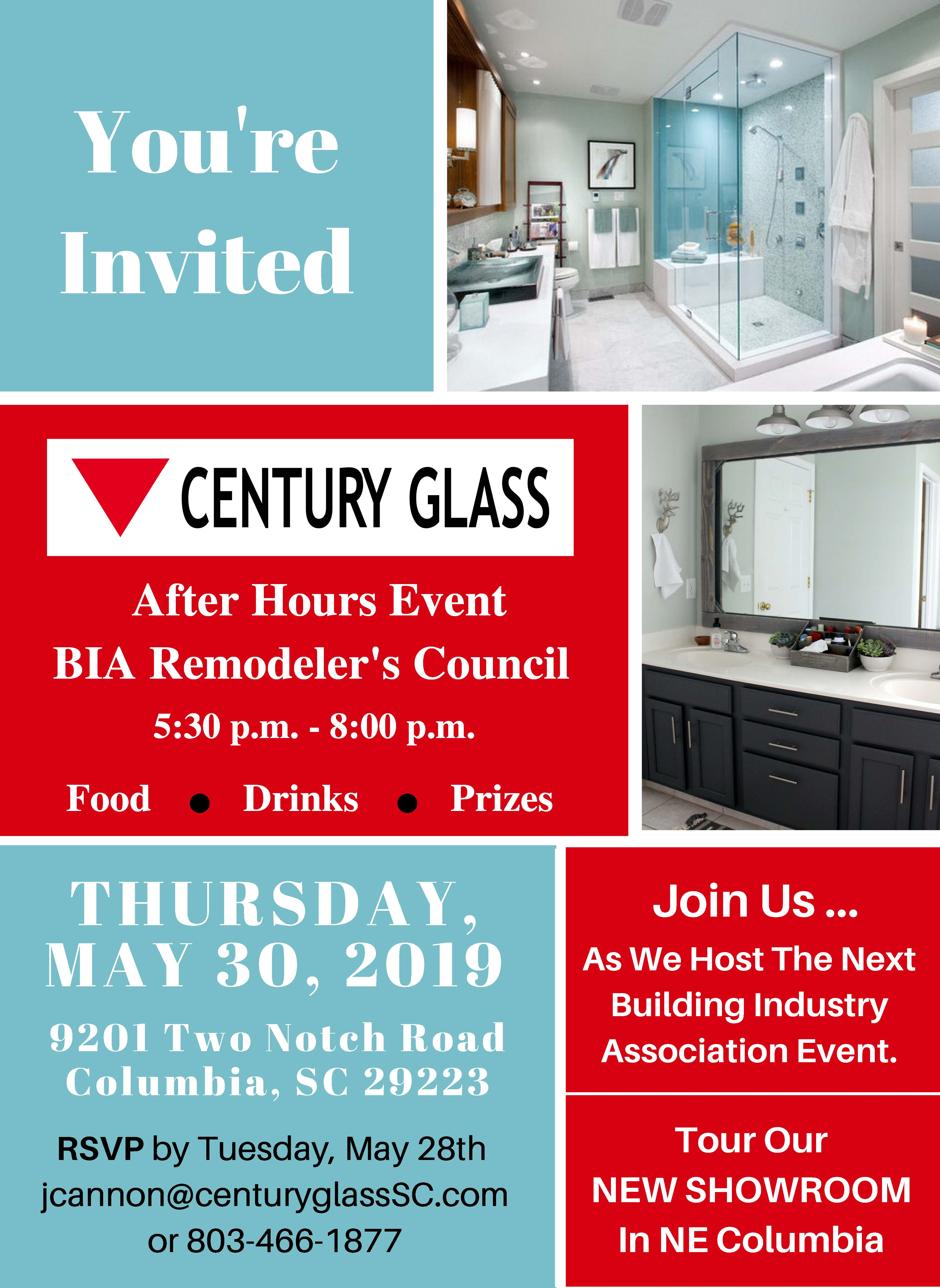 After Hours at Century Glass