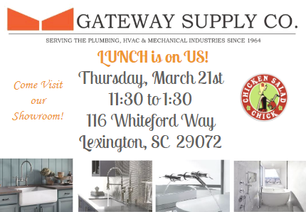 Gateway Supply Lunch