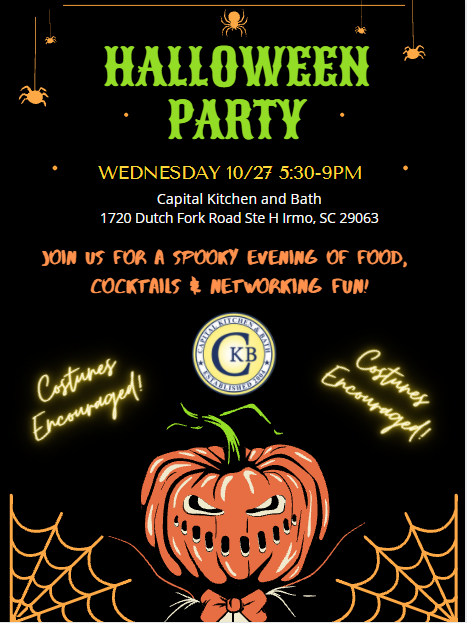 Halloween Party at Capital Kitchen & Bath