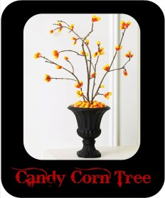 candy corn tree