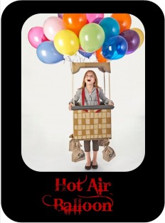 hot air costume